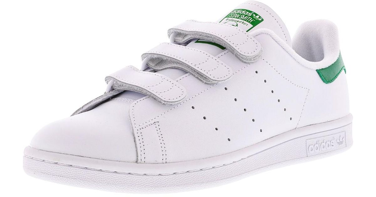 new product 2869a b4b60 adidas -Ftw-White-Ftw-White-Green-Stan-Smith-Cf-Ftw-White-Green-Ankle-high-Fashion-Sneaker-12m.jpeg