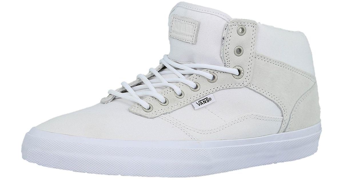 ba850a0613 Lyst - Vans Bedford Marble Star White   Ankle-high Fabric Fashion Sneaker  in White for Men