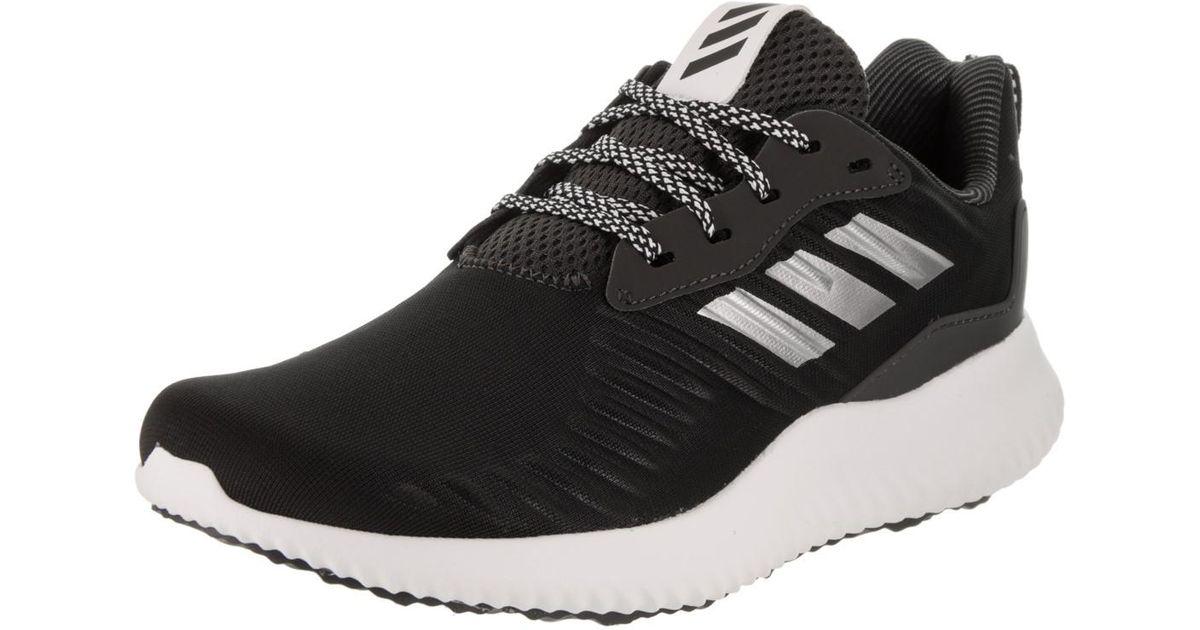 Lyst - adidas Originals Alphabounce Rc Black silver white Running Shoe 7  Women Us in Black 84a9da09d