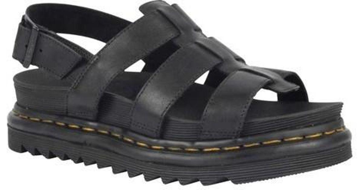 43c2a6bd2d85 Lyst - Dr. Martens Yelena Strappy Sandal in Black