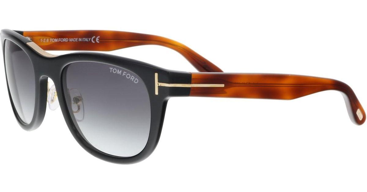 26f06ec0b5d89 Lyst - Tom Ford Sunglasses Ft 0045 Jack 05b  other   Gradient Smoke in  Black - Save 5%