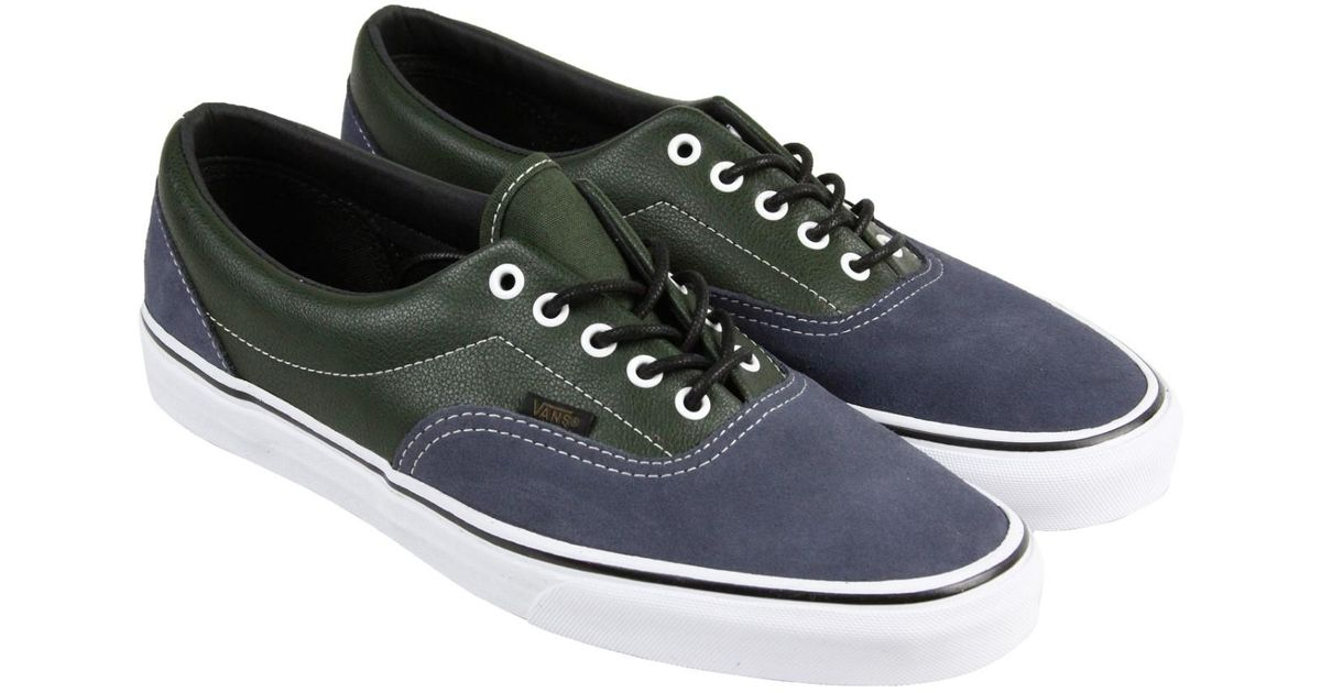 01e51f9bf291a8 Lyst - Vans Era Parisian Night Rose Mens Lace Up Sneakers in Black for Men