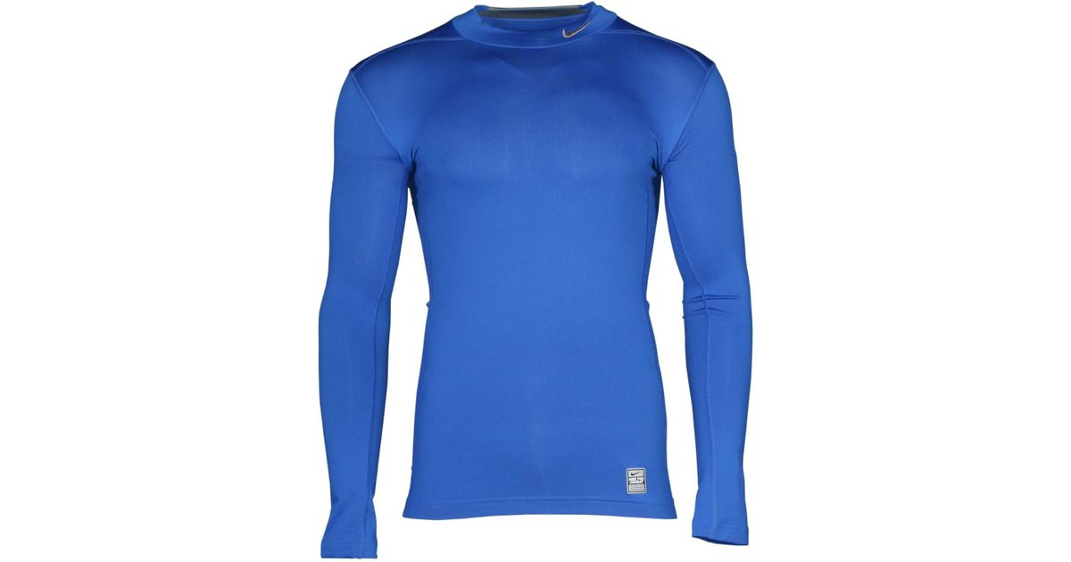 3069c4bb Nike Dri Fit Pro Combat Compression Training Shirt-royalblue-small in Blue  for Men - Lyst