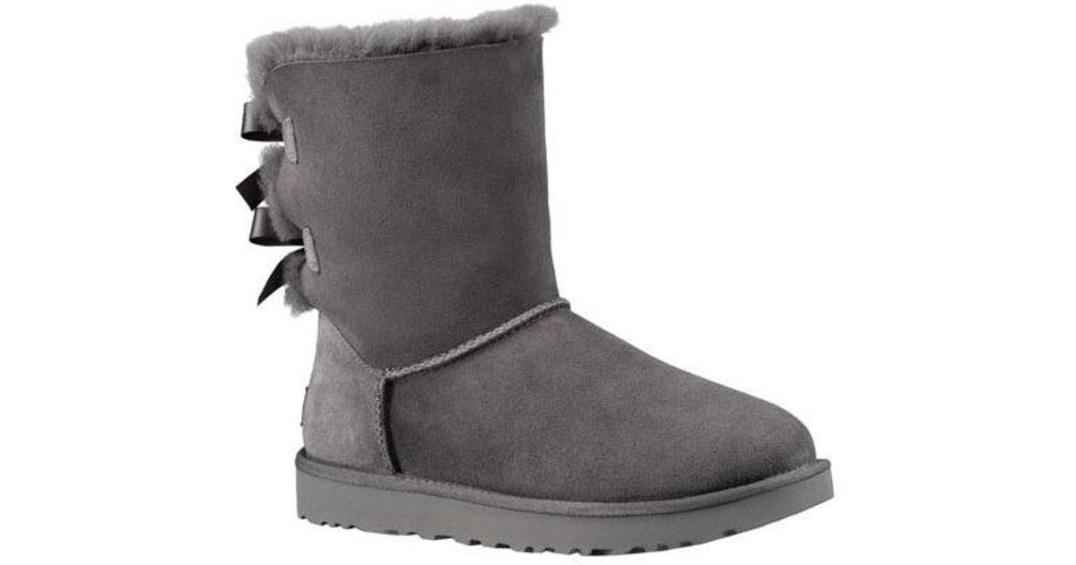 704c705b281 Ugg | Gray Ugg Bailey Bow Ii Boot | Lyst