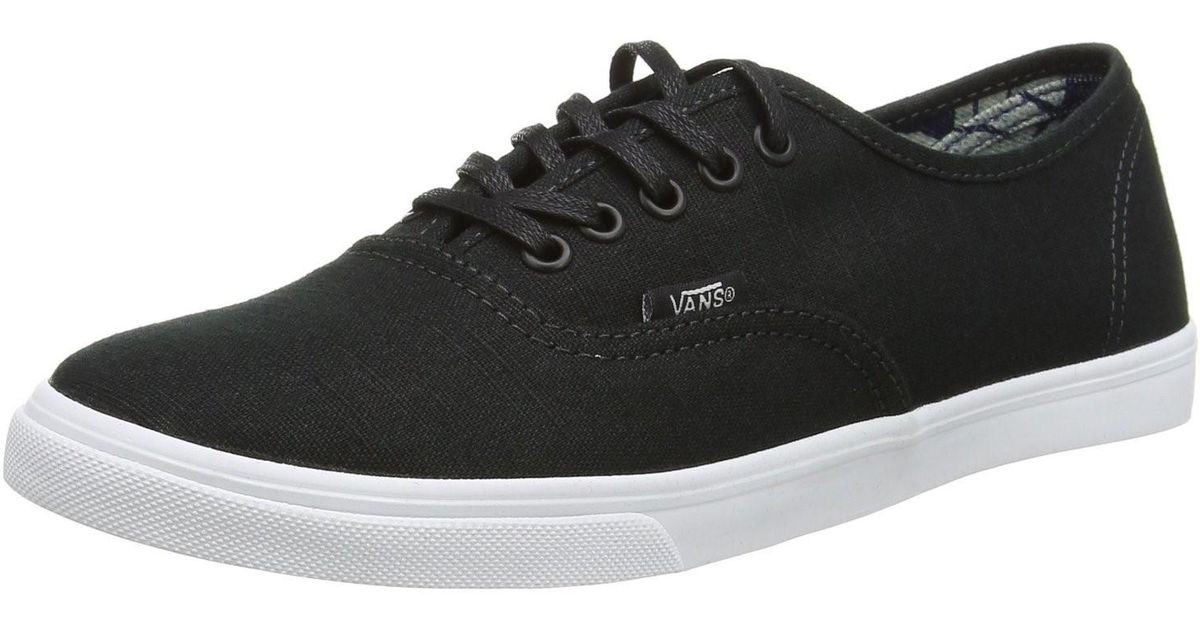 e3adeed6f6 Lyst - Vans Men Authentic Lo Pro (indigo Tropical) Shoes in Black for Men