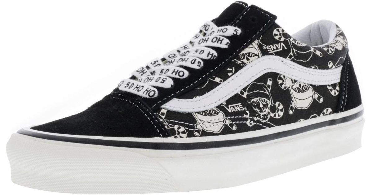 efbc02bd6e Lyst - Vans Old Skool 36 Reissue 50th Stv   Pirate Santa Black Ankle-high  Canvas Skateboarding Shoe - 8m 6.5m in Black for Men