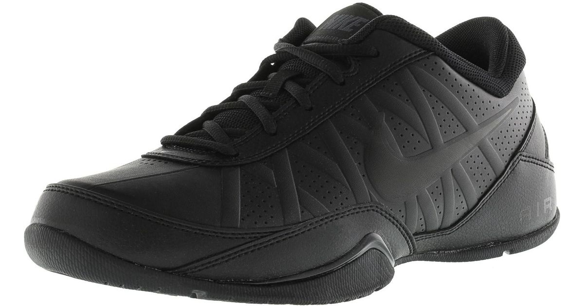 abe3ab8e7a00 Lyst - Nike Air Ring Leader Low Black   Top Fabric Fashion Sneaker in Black  for Men