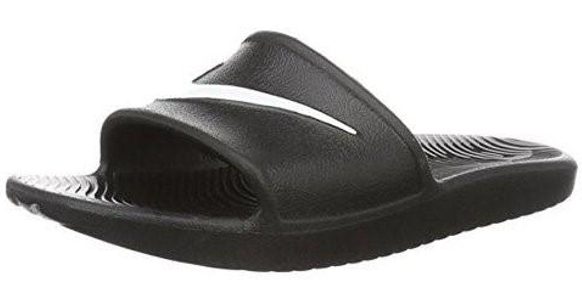 51e4e446ceb6 Lyst - Nike 832528-001  Kawa Shower Sport Slide Sandals Black (001 Black in  Black for Men