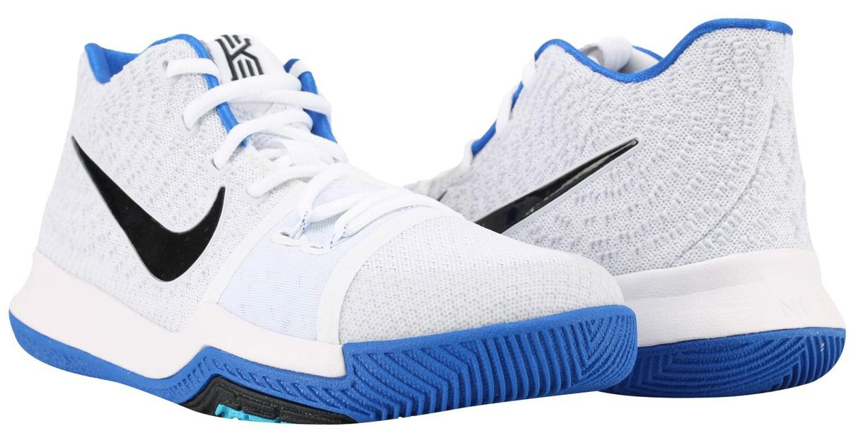 d9e8d8aefabe Nike Kyrie 3 (gs) Big Kids Basketball Shoes Size 6.5 in Blue for Men - Lyst