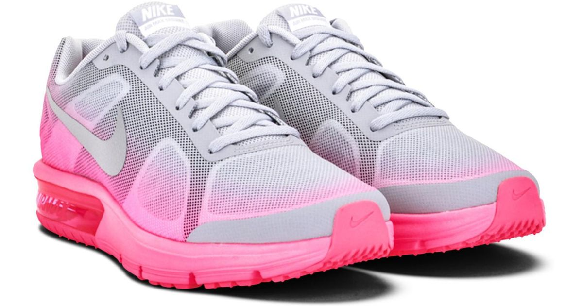 new arrivals 075eb c7eea Lyst - Nike Air Max Sequent Girls Sneakers (gs) 724984-002 in Pink
