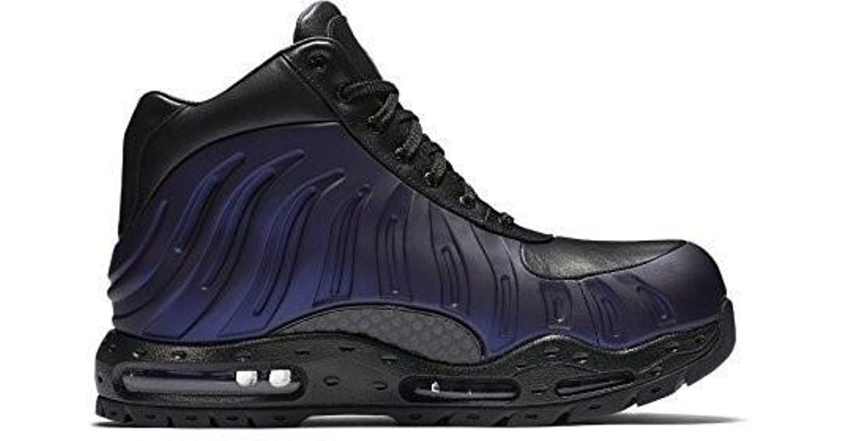super cute 0d2ac c55dc Nike Air Max Foamdome Boots 843749-500 in Black for Men - Lyst
