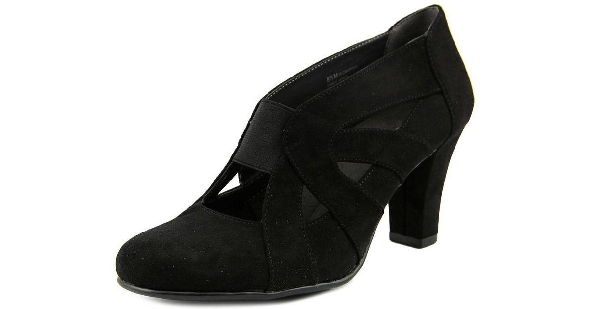ad17dca5850a Lyst - Aerosoles Rigmarole Sandals in Black