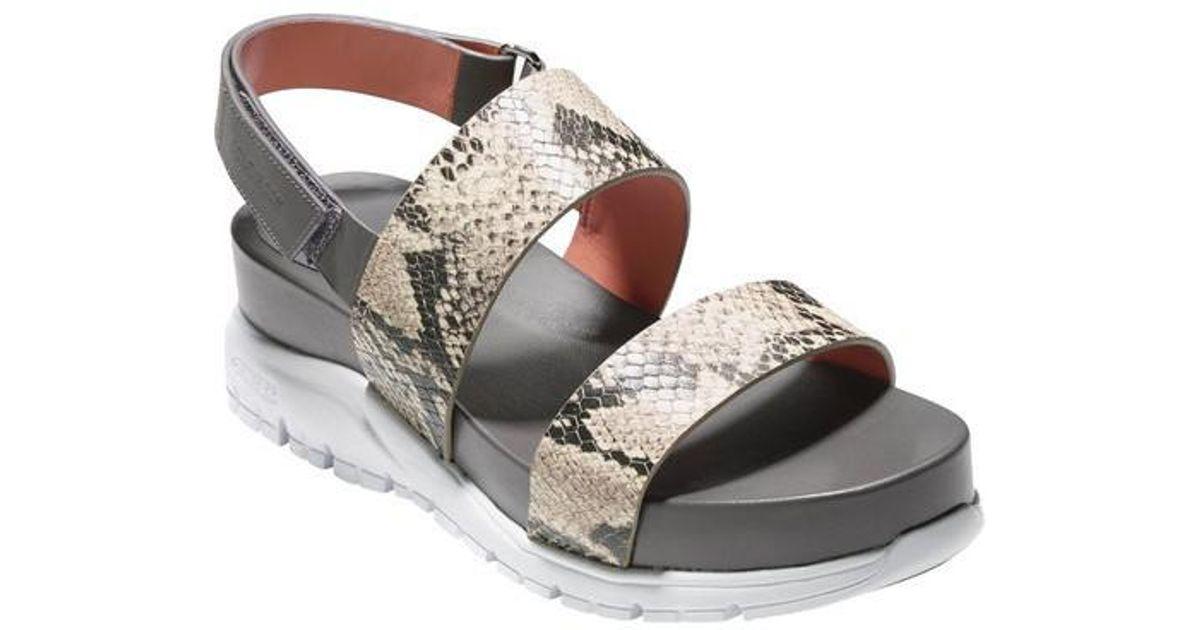 789fc1ffd7b Lyst - Cole Haan Zerogrand Slide Sandal