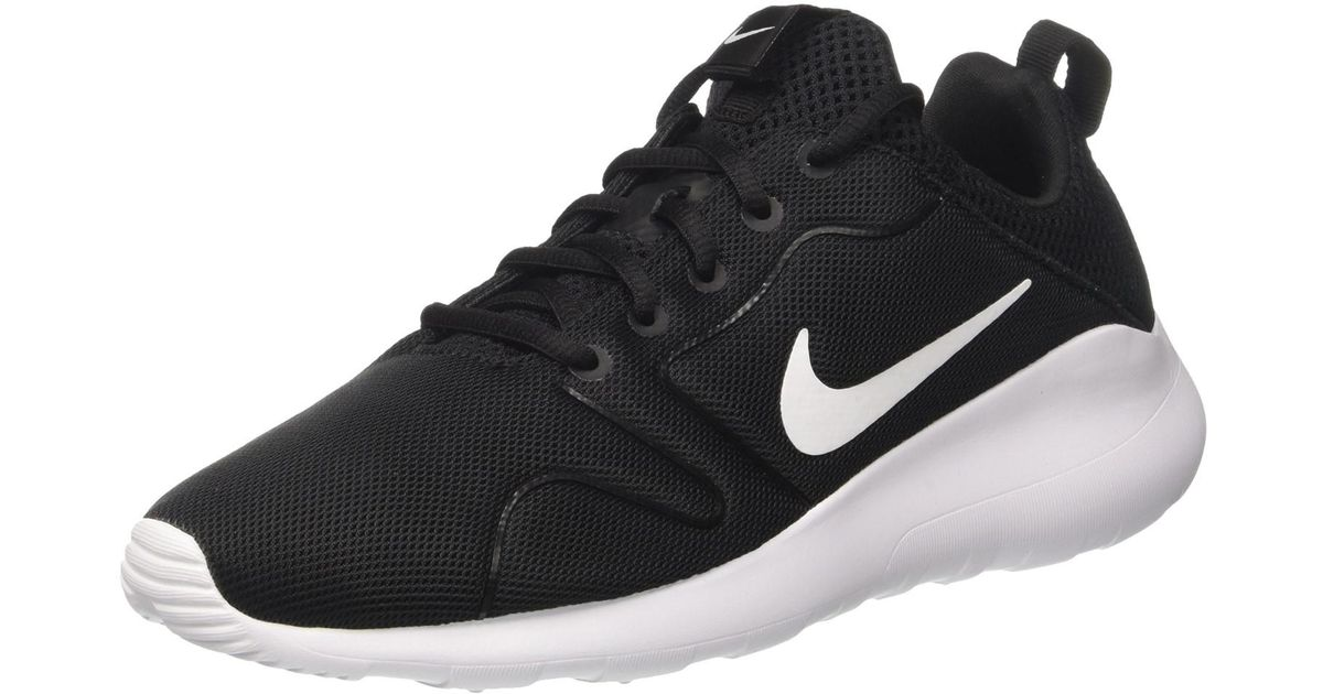 low priced 5e1d9 f7112 ... sweden low cost lyst nike kaishi 2.0 black white running shoe 12 men us  in black