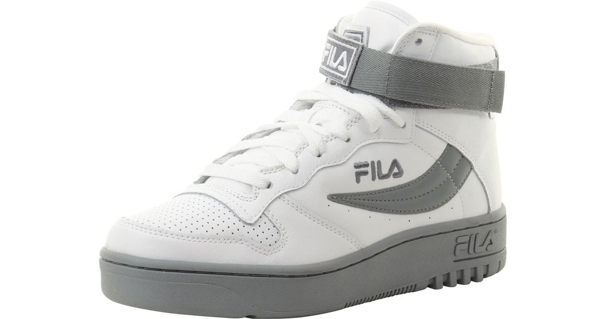 09dd8a302153 Lyst - Fila Fx-100 White white monument High-top Sneakers Shoes Sz  11 in  White for Men