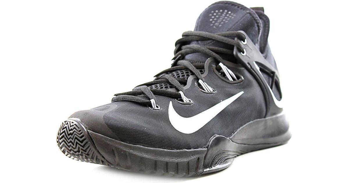 2423a615c669 Lyst - Nike Zoom Hyperrev 2015 Black Basketball Shoe in Black for Men