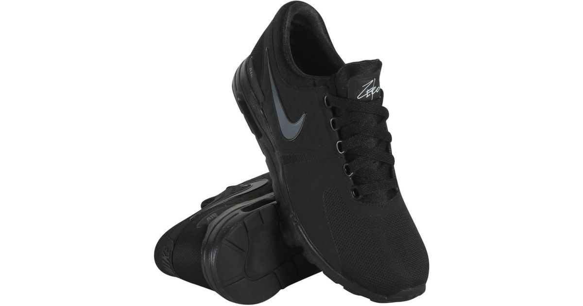 on sale 2fc6a 648e6 Lyst - Nike 857661-012 Women W Air Max Zero Black Dark Grey White in Black