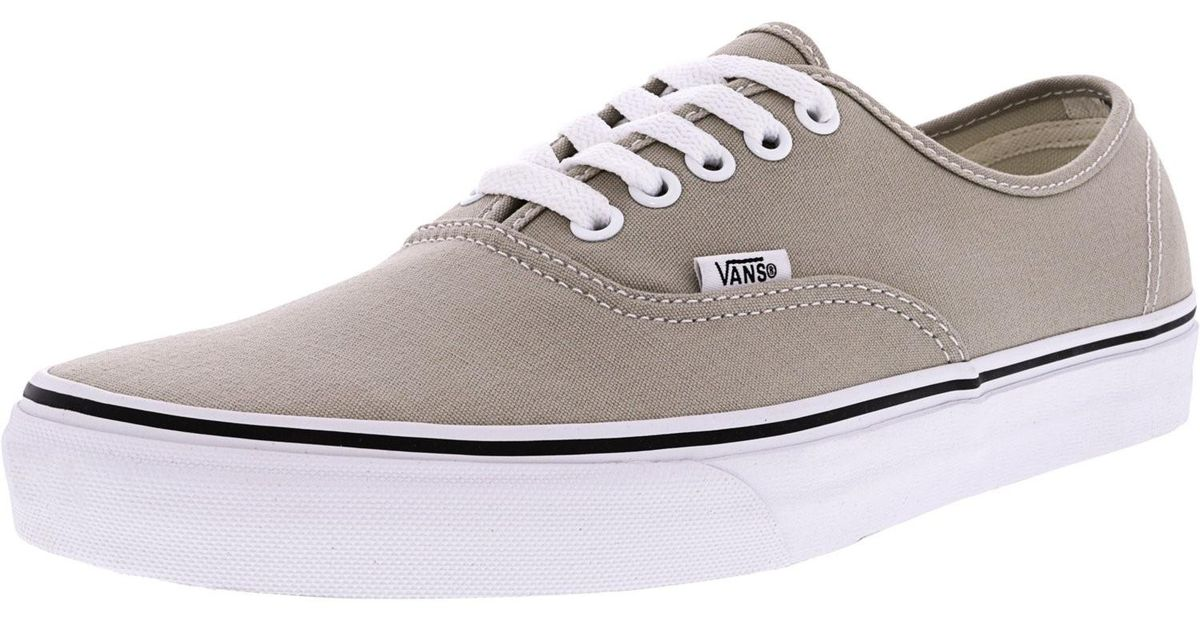 a67e058728 Lyst - Vans Authentic Ankle-high Canvas Skateboarding Shoe - 12m 10.5m in  White for Men