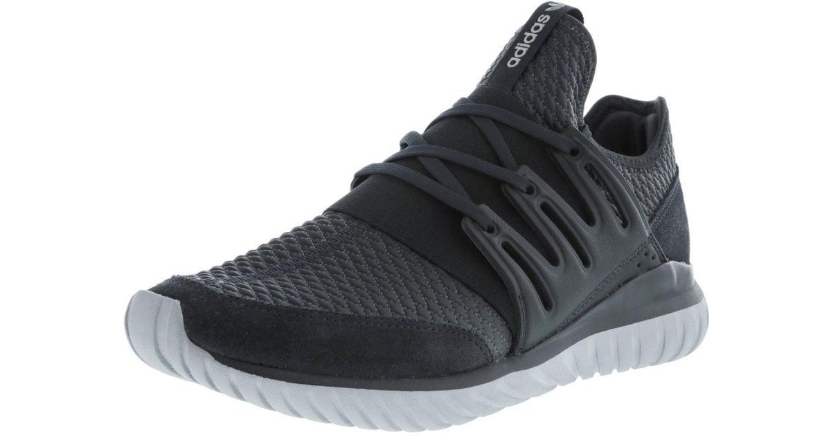fcb9301801c Lyst - adidas Tubular Radial Dark Grey Heather   Medium Ankle-high Fabric Fashion  Sneaker - 6m in Gray for Men
