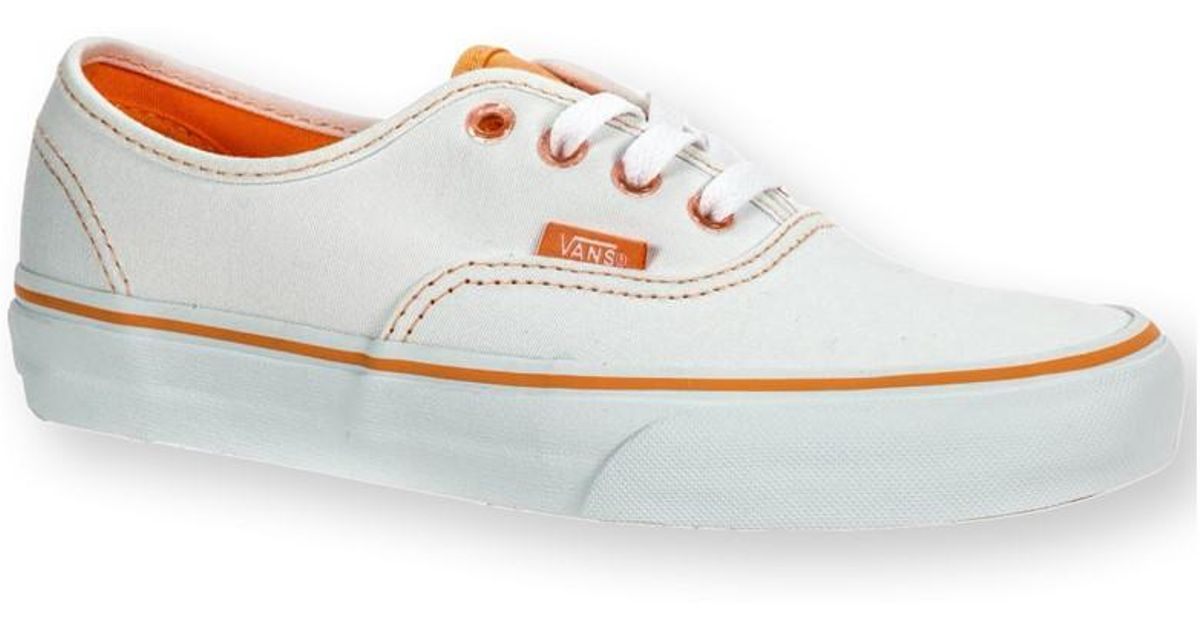 bd45c0b0d7 Lyst - Vans Unisex Authentic Clear Eyelets Sneakers Trwhtcantlpe M3.5 W5 in  White for Men