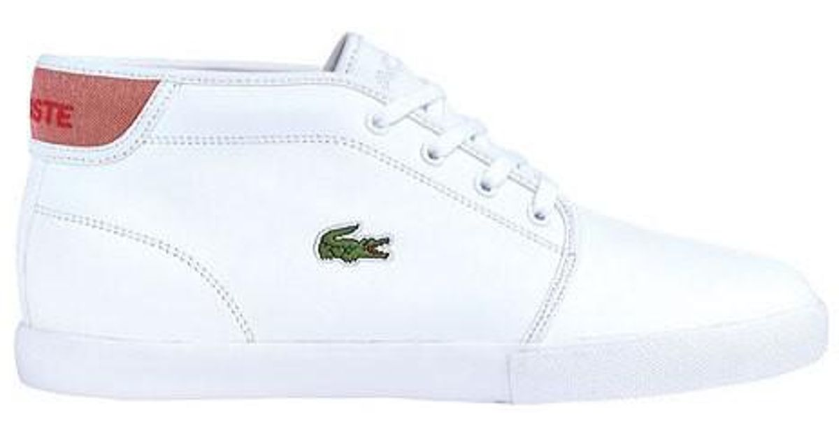 c5817e74c183b Lyst - Lacoste Ampthill Lcr 2 High Top Sneaker in White for Men