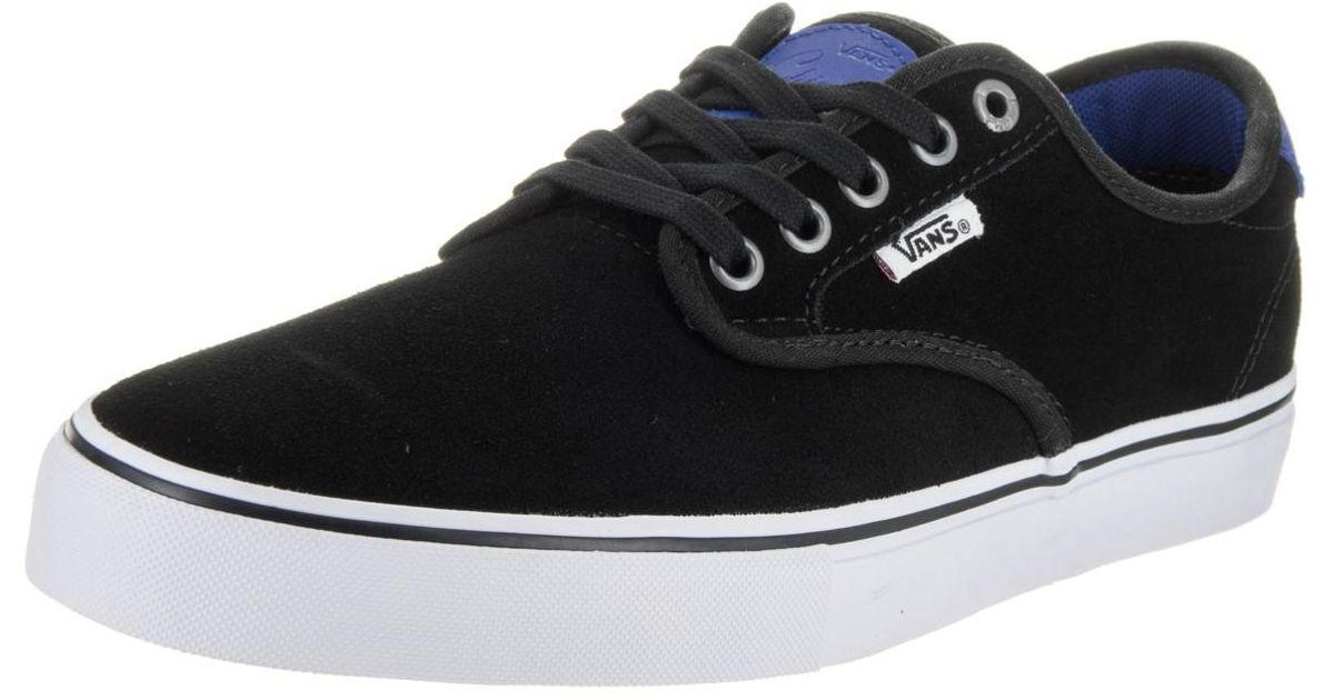 8afb30cfab Lyst - Vans Chima Ferguson Pro (real Skateboards) Bk trbl Skate Shoe 9.5  Men Us in Black for Men