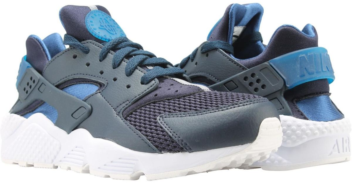 newest f6df5 9f31c Nike Air Huarache Running Shoes 318429-420 in Blue for Men - Lyst