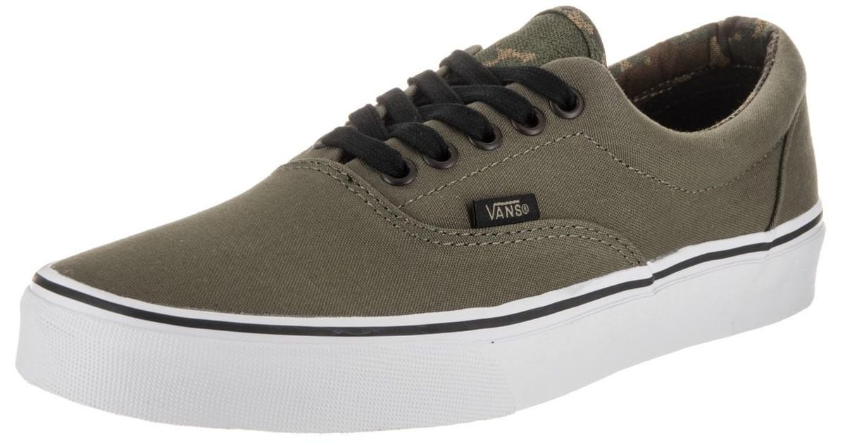 Lyst - Vans Unisex Era (vintage Camo) Ivygrn blk Skate Shoe 11 Men Us for  Men 63a6d38ba