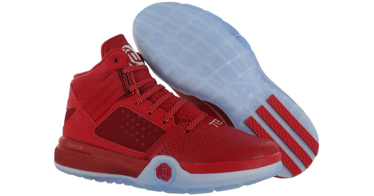 pretty nice 3c3d5 db294 Lyst - adidas Originals D Rose 773 Iv Basketball Junior s Shoes Size 5.5 in  Red for Men