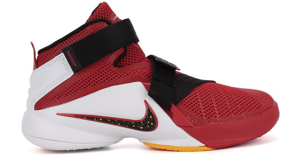 6bfe00daf35 Lyst - Nike Kids Lebron Soldier Ix Ps Basketball Shoe (11 M Us Little Kid)  in Red for Men