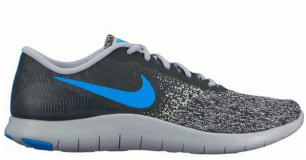 24b315cb82f91 Lyst - Nike Mens Flex Contact in Blue for Men