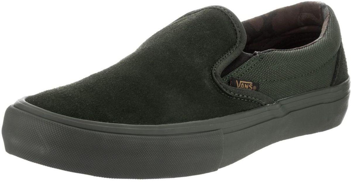 7bc2234c58 Lyst - Vans Slip-on Pro (camo) Rosin Skate Shoe 8 Men Us for Men