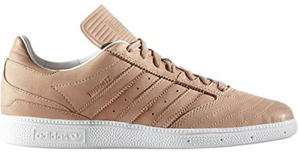 sale retailer 870bc 0dcd2 Lyst - adidas Limited Edition Busenitz Veg Tan Leather Shoe