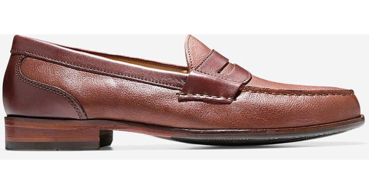 b6fd1d16abb Lyst - Cole Haan Fairmont Penny Loafer in Brown for Men