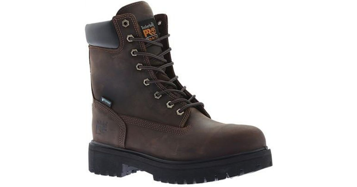6d8a58c60cb Timberland - Brown Pro Direct Attach 8' Soft Toe Work Boot for Men - Lyst