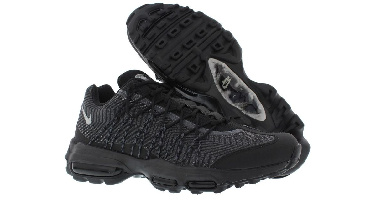 detailed look e7622 fd2d1 Lyst - Nike Air Max 95 Ultra Jacquard Running Shoes Size 9 in Black .