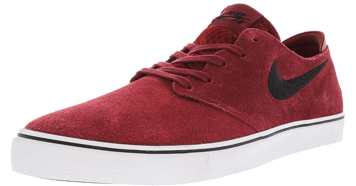best service d2ed8 87fdc Lyst - Nike Zoom Oneshot Sb Team Red   Black White Ankle-high Skateboarding  Shoe - 10.5m in Red for Men