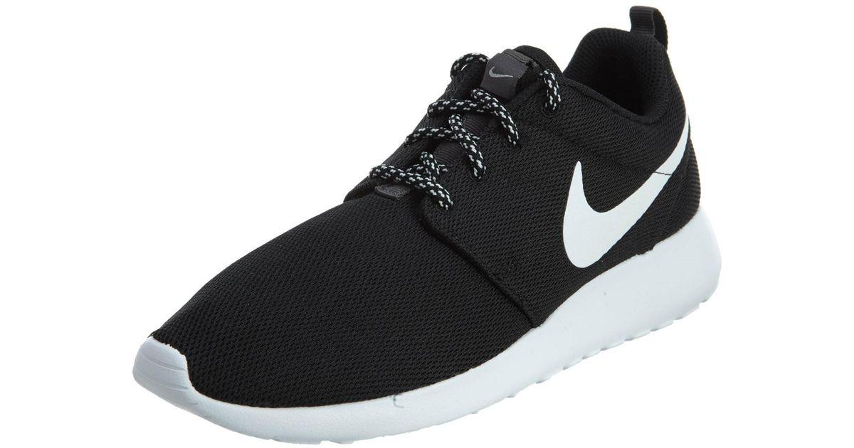 fb31831cad834 Lyst - Nike 844994-002 Women W Roshe One Black White Dark Grey in Black
