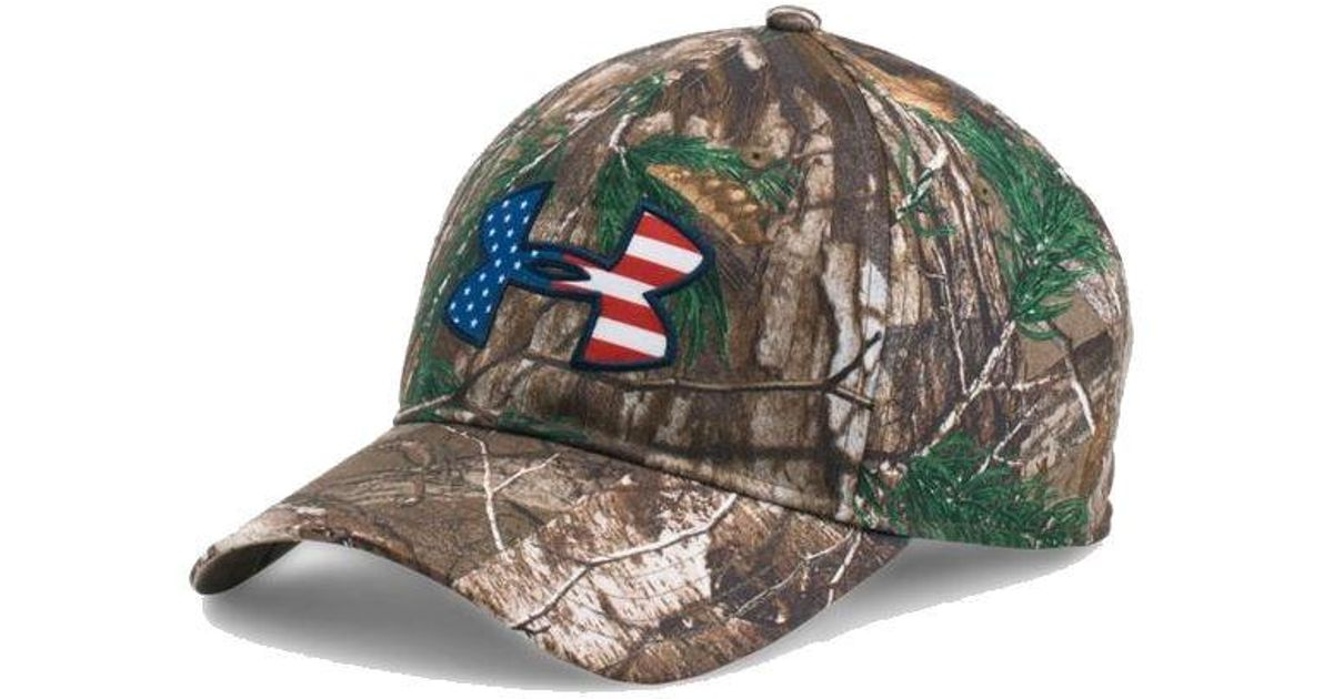 8f449be4d7b35 ... denmark lyst under armour ua american flag camo big logo 2.0 adjustable  hat 1282392 for men