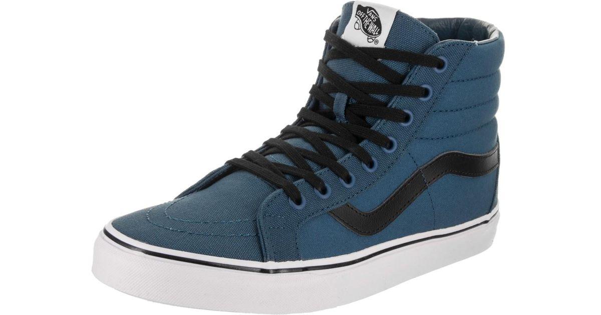 1263173e32 Lyst - Vans Canvas Sk8 Hi-top Old-school Retro Sneaker in Blue for Men