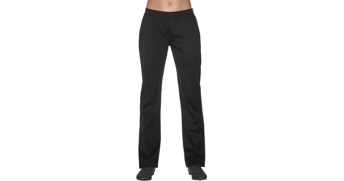 0cae1f23320b Lyst - Champion Womens Powertrain Pro Tech Pants in Black