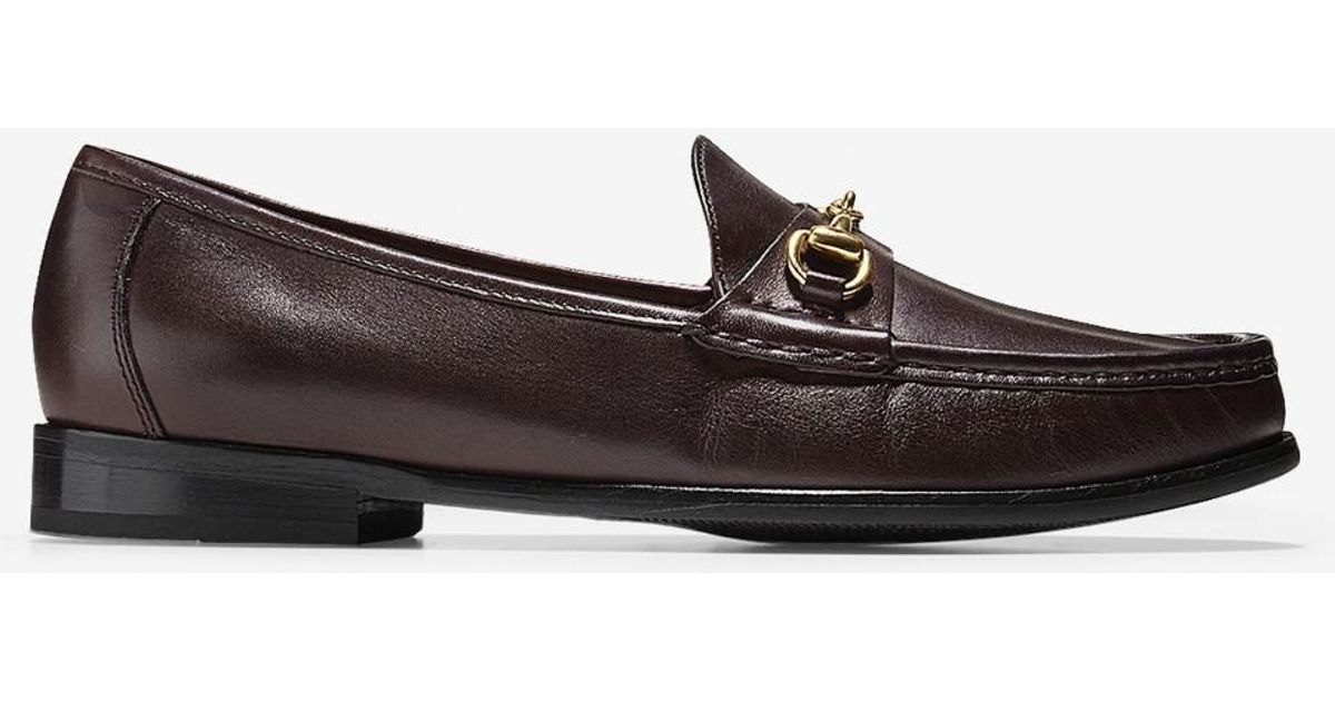 8b2bcd75f0d Cole Haan Ascot Bit Loafer in Brown for Men - Lyst