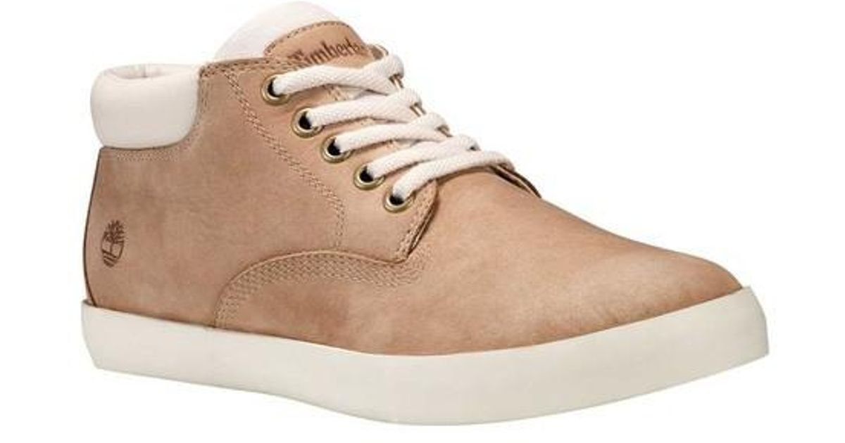 68e401900e7 Lyst - Timberland Dausette Low Chukka Boot in Natural