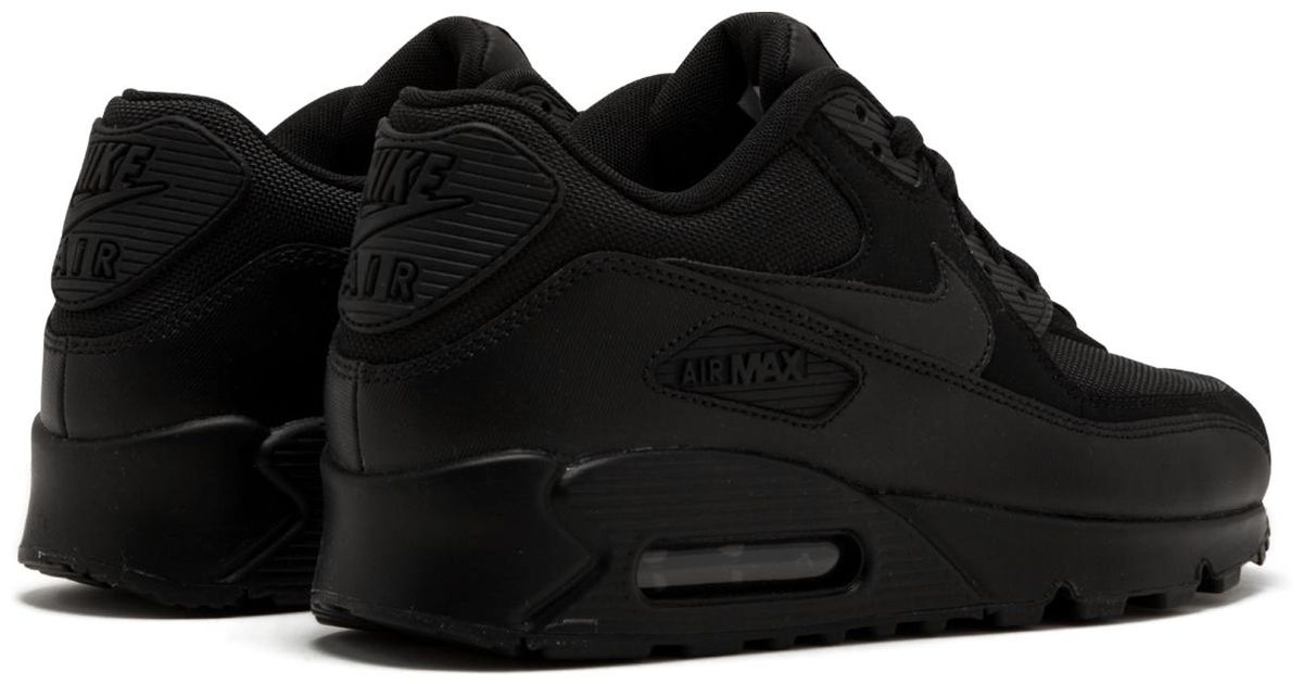 big sale c074c 2e16b Lyst - Nike 537384-090 Air Max 90 Essential Running Shoes in Black for Men
