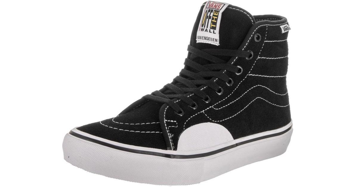 062d1886e3a Lyst - Vans Av Classic High Pro Black white Skate Shoe 7.5 Men Us in Black  for Men