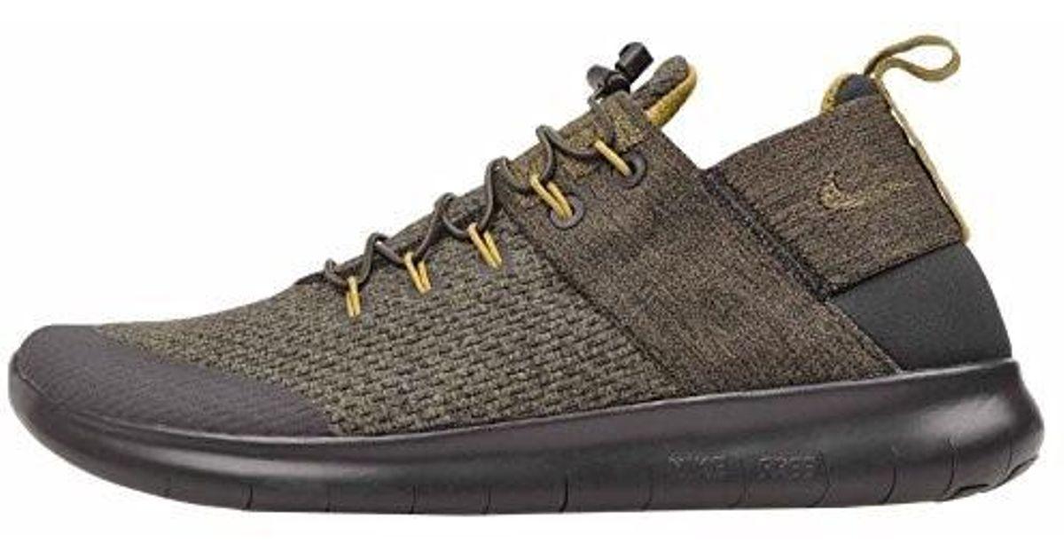 430f329ff538 ... cheapest lyst nike free rn commuter 2017 premium desert moss medium  olive nylon running shoes 12