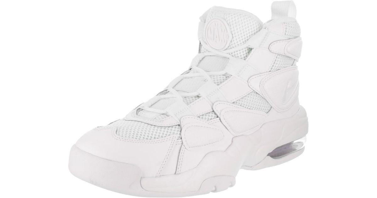 Lyst - Nike Men s Air Max2 Uptempo  94 Basketball Shoe in White for Men 6c3318755
