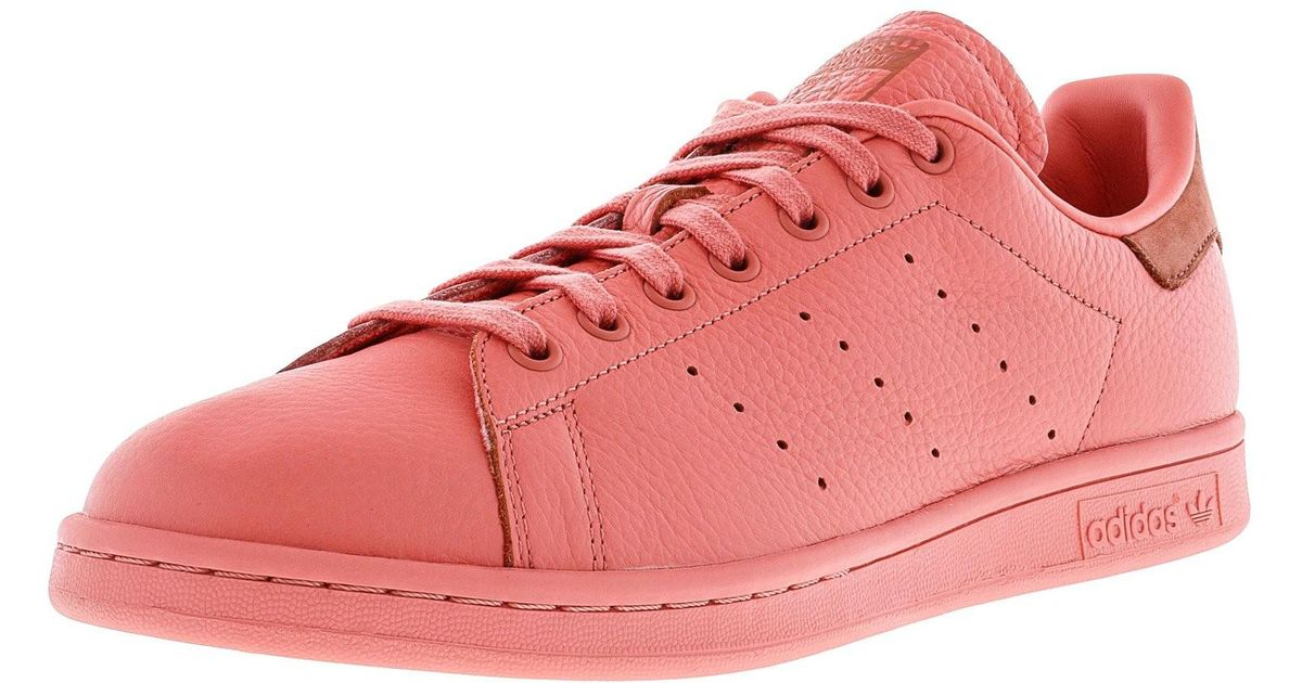 7bc3be37a4d4b Lyst - adidas Stan Smith Tactile Rose   Raw Pink Ankle-high Leather Fashion  Sneaker - 9.5m in Pink for Men