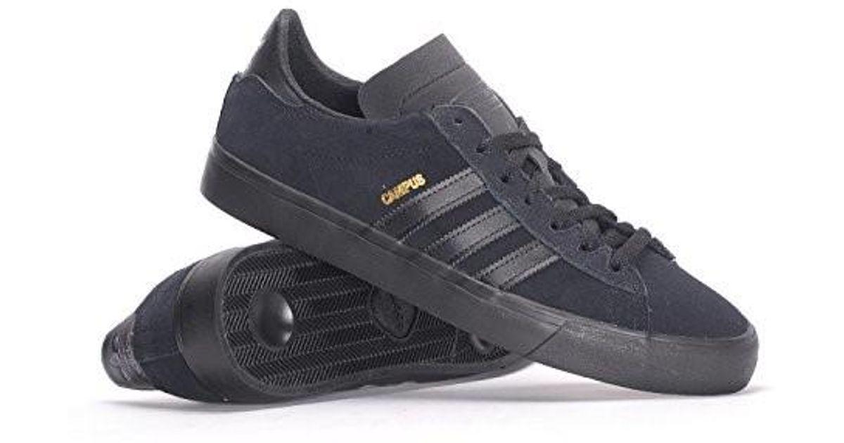 Adidas Originals Multicolor Campus Vulc Ii Cblackcblackcblack Skate Shoe 9 Men Us for Men Lyst