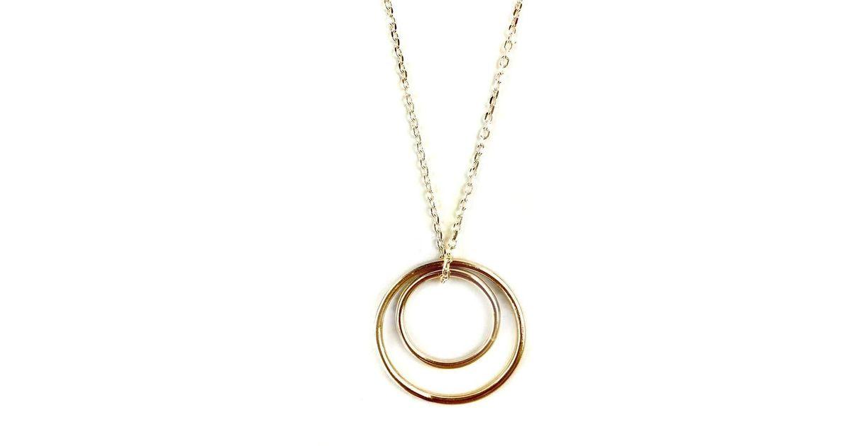Fran Regan Jewellery Pendant Vermeil Trio Loop On Silver Chain 2xm8gPEJ